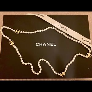 Luxury Classic Long Pearl Necklace